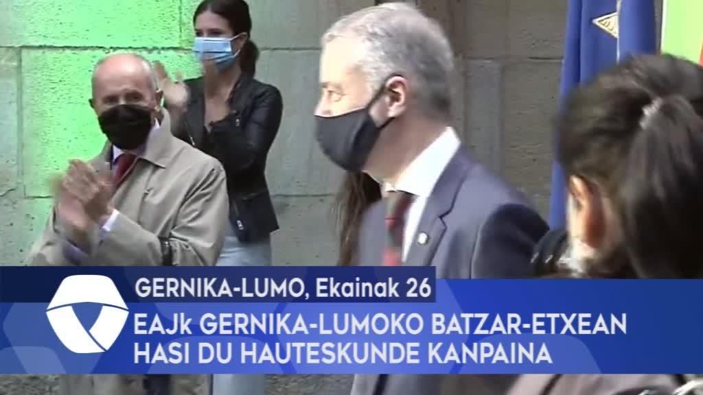EAJk Gernika-Lumoko Batzar-Etxean eman dio hasiera hauteskunde kanpainari