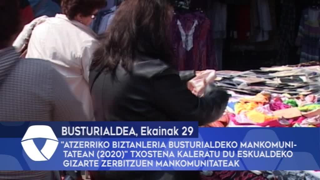 """""""Atzerriko biztanleria Busturialdeko Mankomunitatean (2020)"""" txostena kaleratu du eskualdeko gizarte zerbitzuen mankomunitateak"""