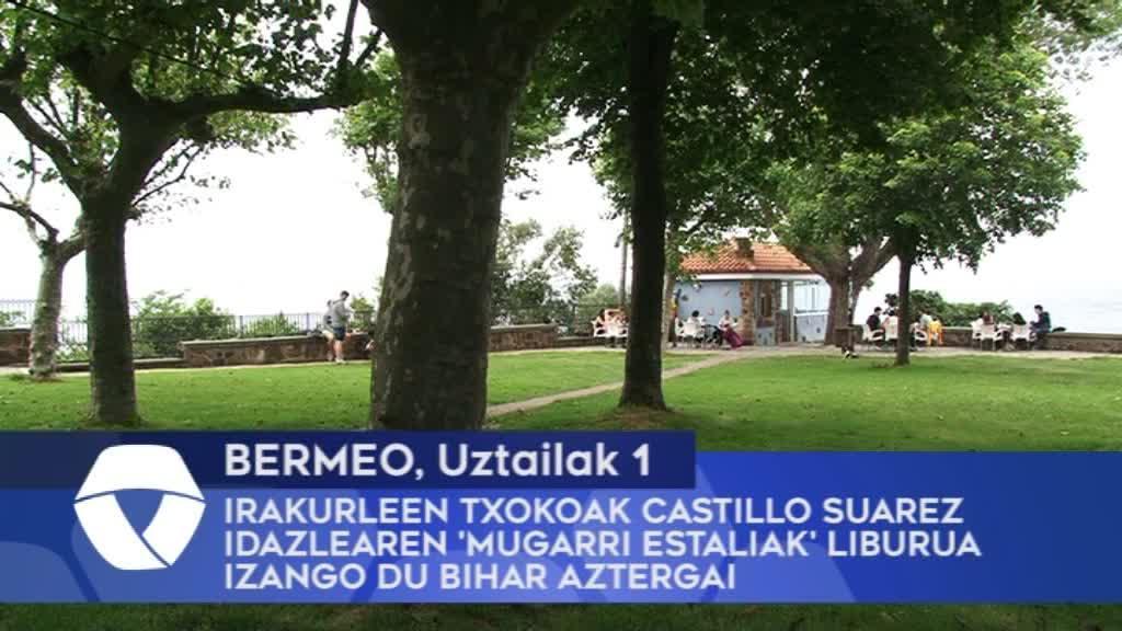 Irakurleen Txokoak Castillo Suarez idazlearen 'Mugarri Estaliak' liburua izango du bihar aztergai