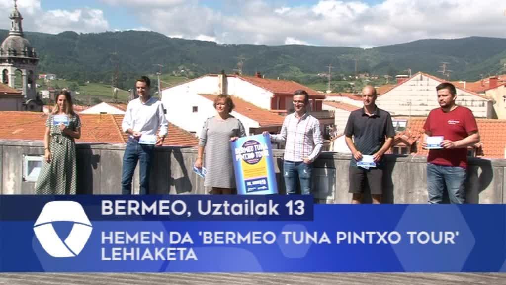 Hemen da 'Bermeo Tuna Pintxo Tour' lehiaketa
