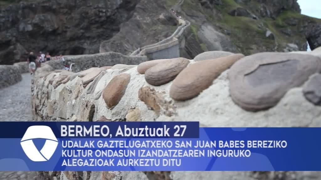 Bermeoko Udalak Gaztelugatxeko San Juan babes bereziko kultur ondasun izendatzearen inguruko alegazioak aurkeztu ditu