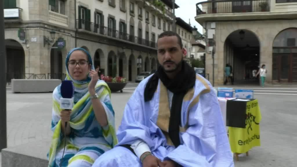 ELKARRIZKETA:  Juventud Activa Saharaui