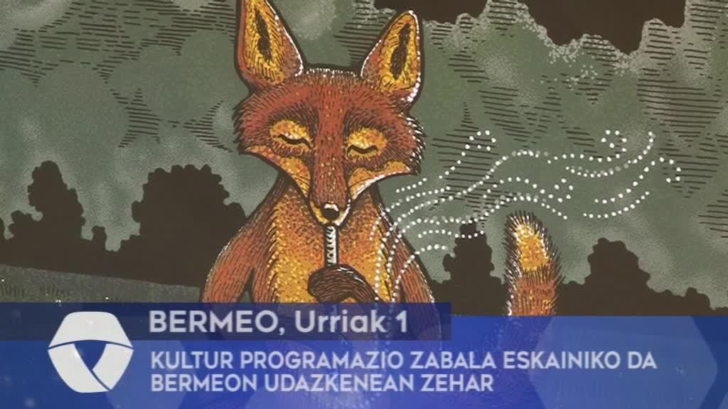Kultur programazio zabala eskainiko da Bermeon udazkenean zehar