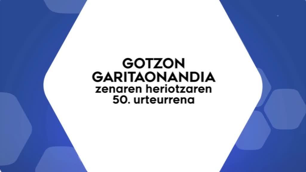 GOTZON GARITAONANDIA zenaren heriotzaren 50 urteurrena