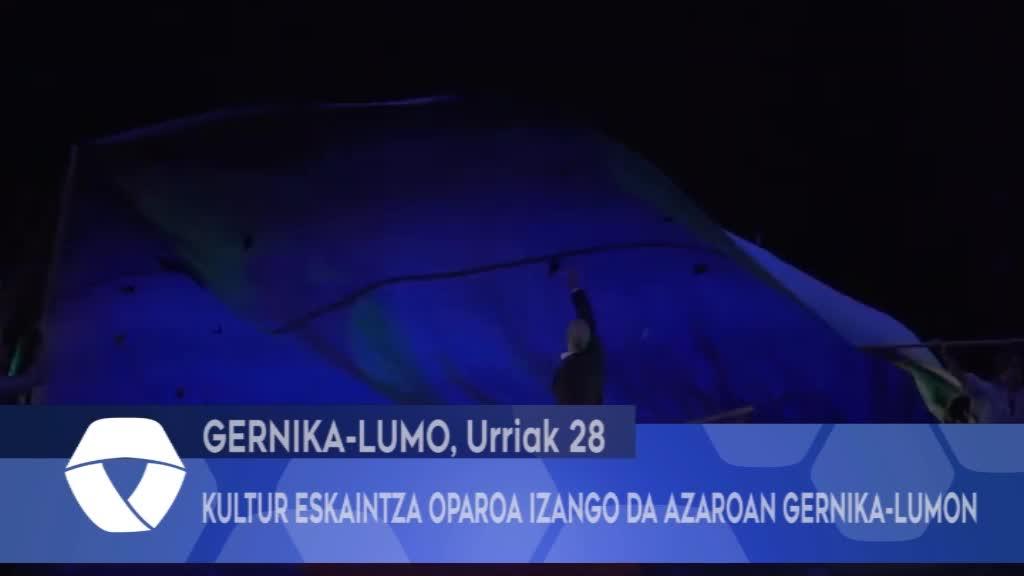 Kultur eskaintza oparoa izango da azaroan Gernika-Lumon