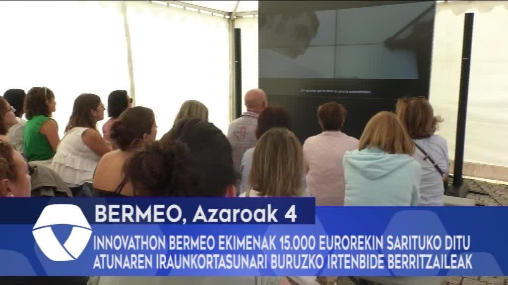 """""""Innovathon Bermeo"""" ekimenak 15.000 eurorekin sarituko ditu atunaren iraunkortasunari buruzko irtenbide berritzaileak"""