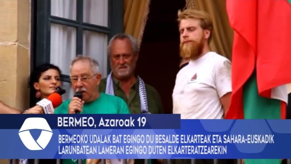Bermeoko Udalak bat egingo du Besalde elkarteak eta Sahara-Euskadik larunbatean Lameran egingo duten elkarteratzearekin