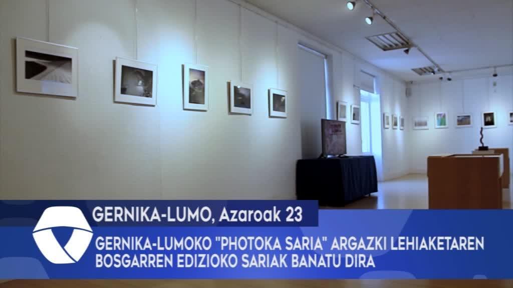 Gernika-Lumoko Photoka Saria argazki lehiaketaren bosgarren edizioko sariak banatu dira
