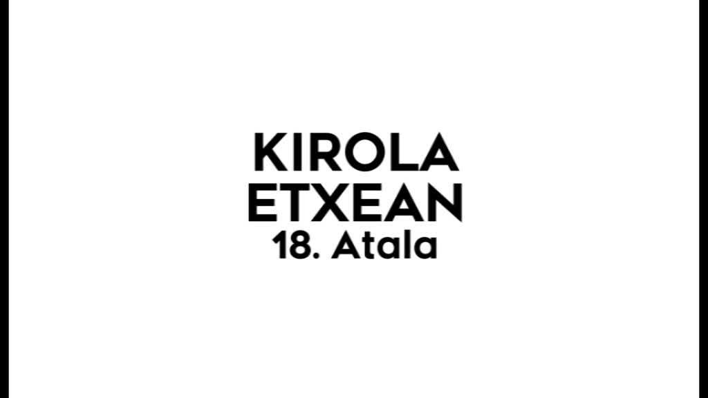 Kirola Etxean 18. atala