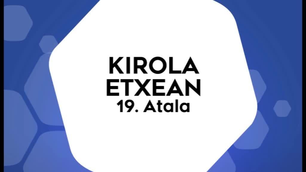 Kirola Etxean 19. atala