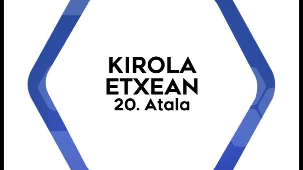 Kirola Etxean 20. atala