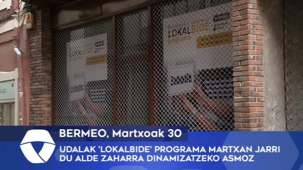Bermeoko Udalak Lokalbide programa martxan jarri du Alde Zaharra dinamizatzeko asmoz