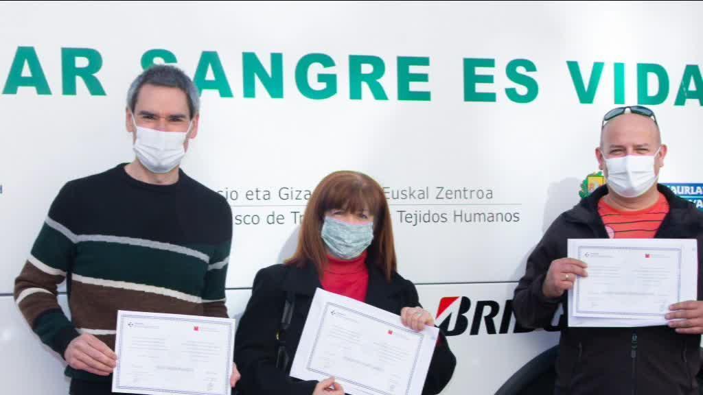 IÑIGO ALBERDI MARI JOSE UGARTE ETA PEDRO URIARTE ODOL EMALEAK OMENDU DIRA