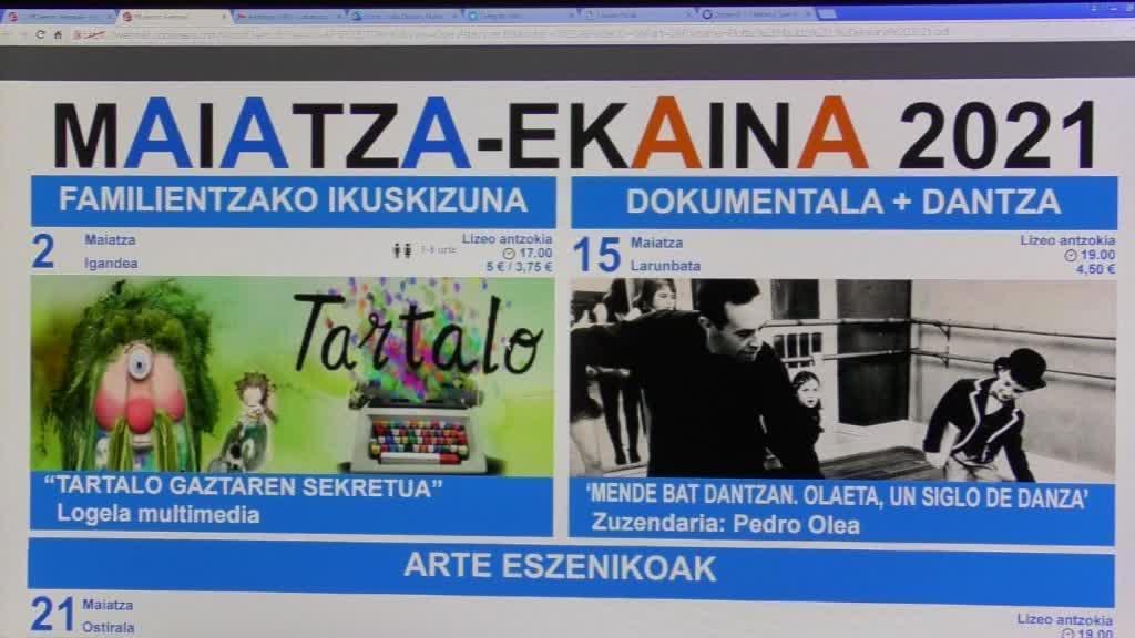 MAIATZA ETA EKAINEKO GERNIKA-LUMOKO KULTUR EGITARAUA PREST