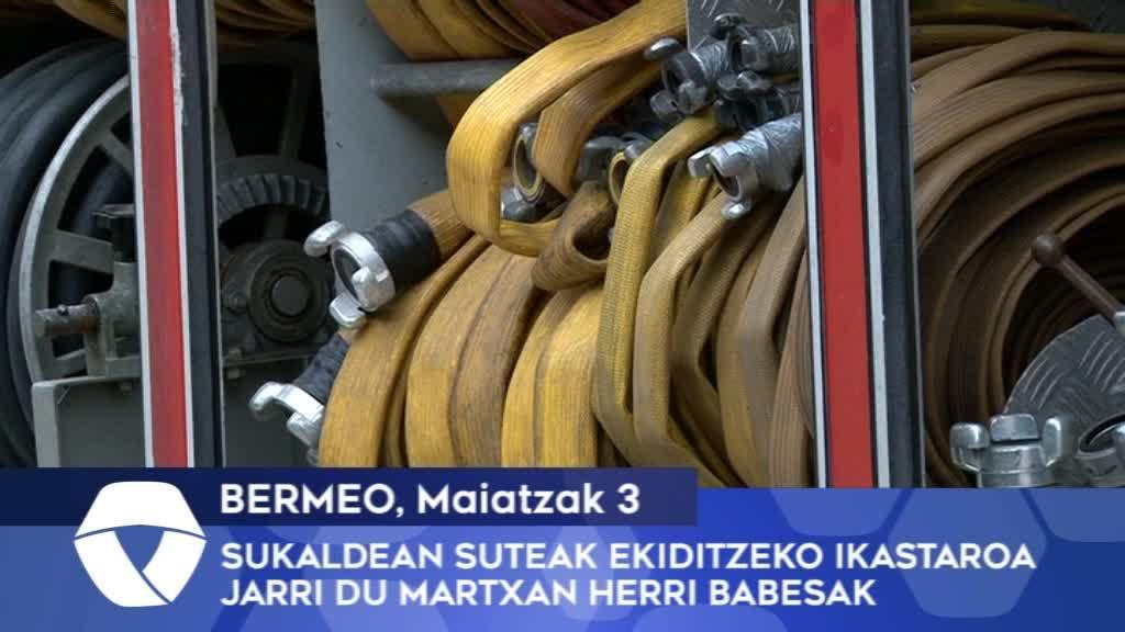 Sukaldean suteak ekiditzeko ikastaroa jarri du martxan Bermeoko Herri Babesak