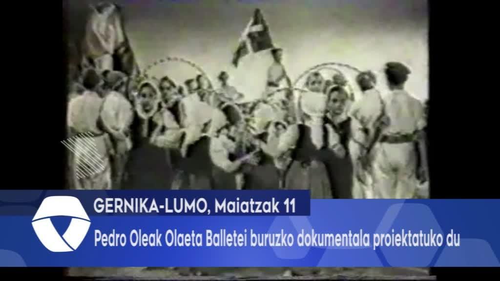 Pedro Oleak Olaeta Balletei buruzko dokumentala proiektatuko du