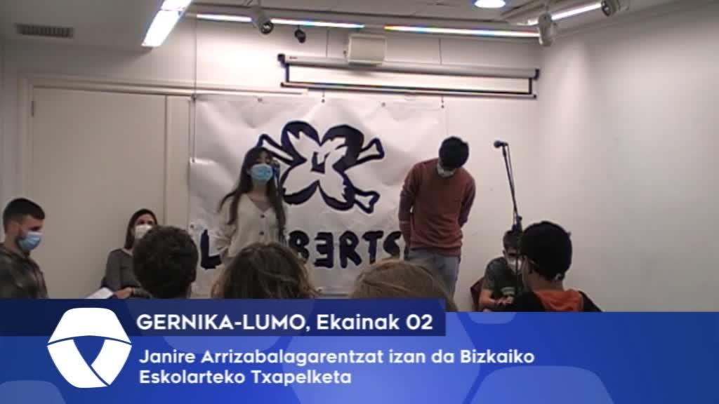 Janire Arrizabalagarentzat izan da Bizkaiko Eskolarteko Txapelketa