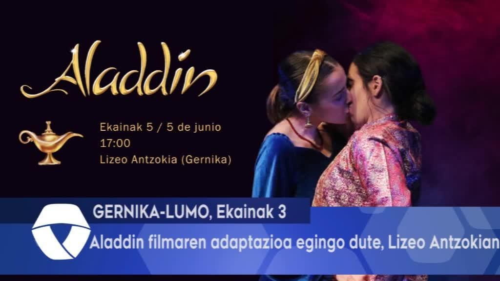 Aladdin filmaren adaptazioa egingo dute, Lizeo Antzokian