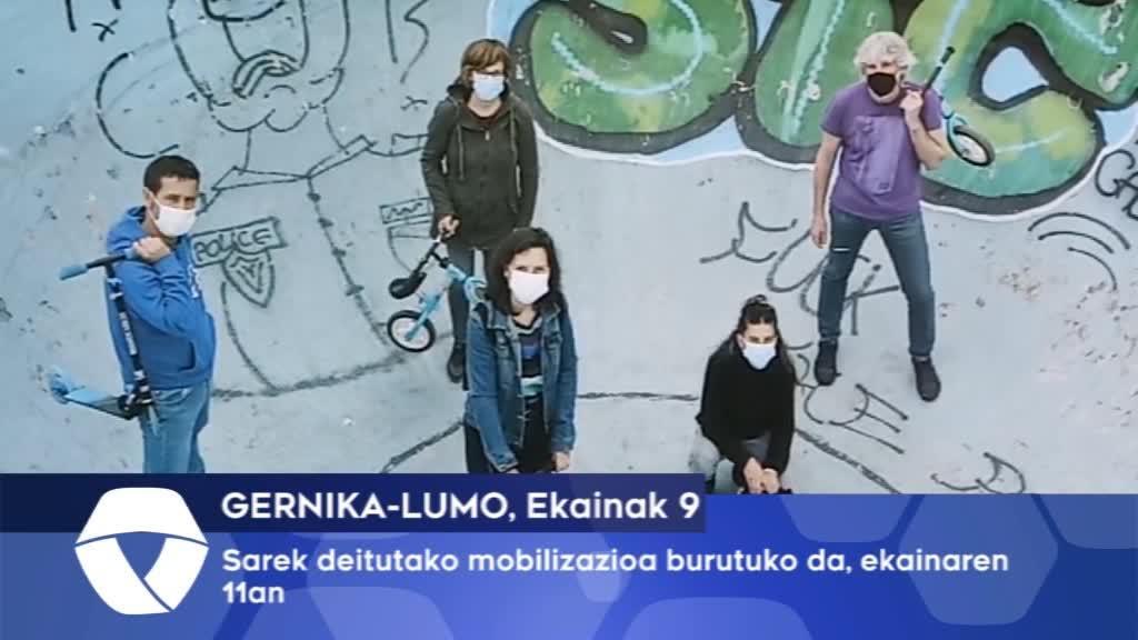Gernika-Lumoko Sarek deitutako mobilizazioa burutuko da