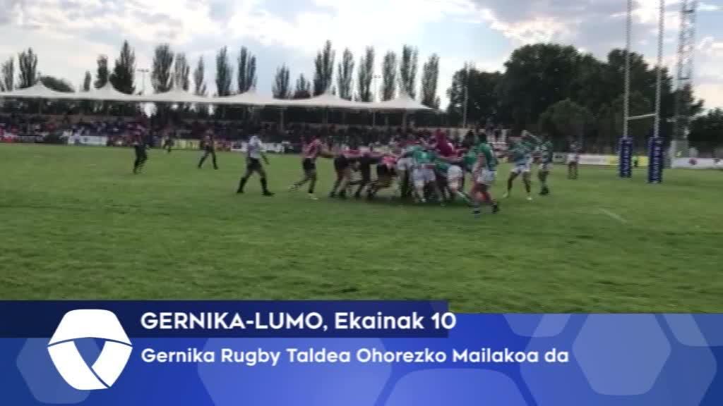 Gernika Rugby Taldea Ohorezko Mailakoa da