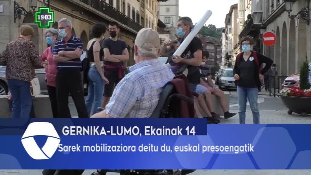 Sarek Mobilizaziora deitu du Euskal Presoengatik