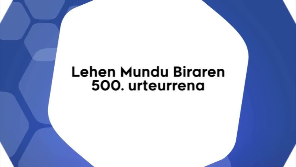 'Lehen Mundu Biraren 500. urteurrena' hitzaldia