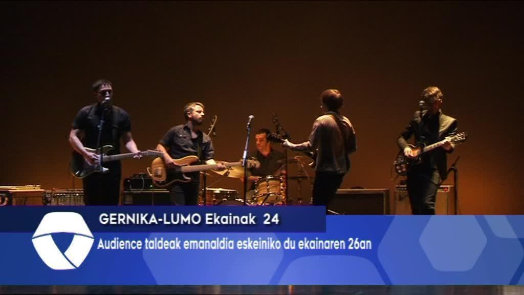 Audience taldeak emanaldia eskeiniko du Lizeo Antzokian
