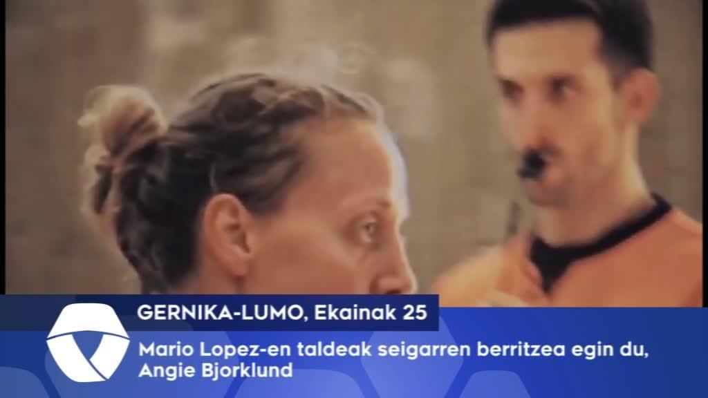 Mario Lopez-en taldeak seigarren berritzea egin du Angie Bjorklund-ekin