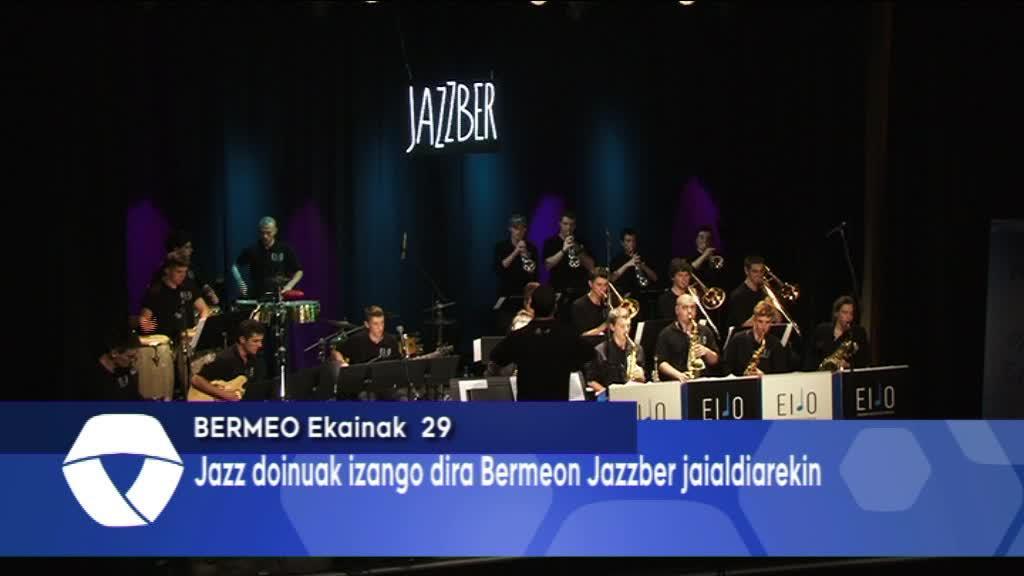 Jazz doinuak itzuko dira Bermeora egunotan