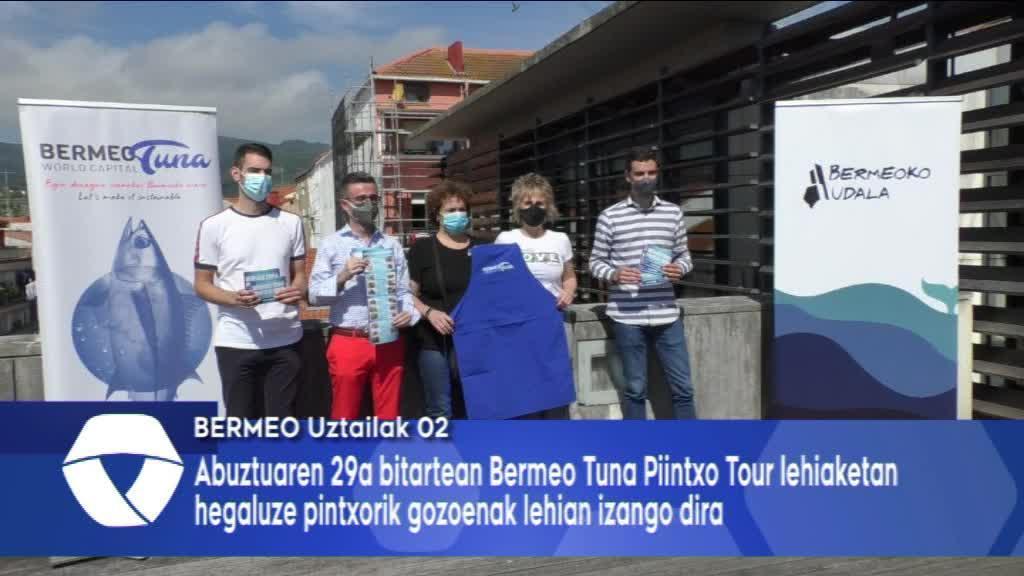 Bermeo Tuna Pintxo Tour lehiaketa aurkeztu