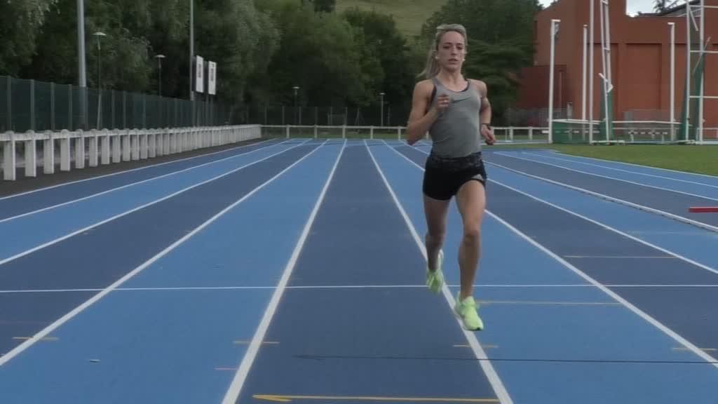Judith Otazua, Espainia Mailako Atletismoan lehiatzen