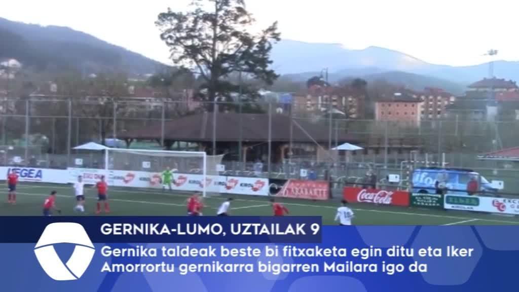 S.D. Gernika taldeak beste bi fitxaketa egin du eta Iker Amorrortu gernikarra bigarren Mailara igo da