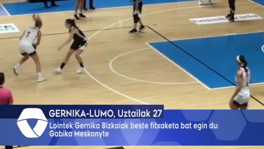 Lointek Gernika Bizkaiak beste fitxaketa bat egin du, Gabika Meskonyte