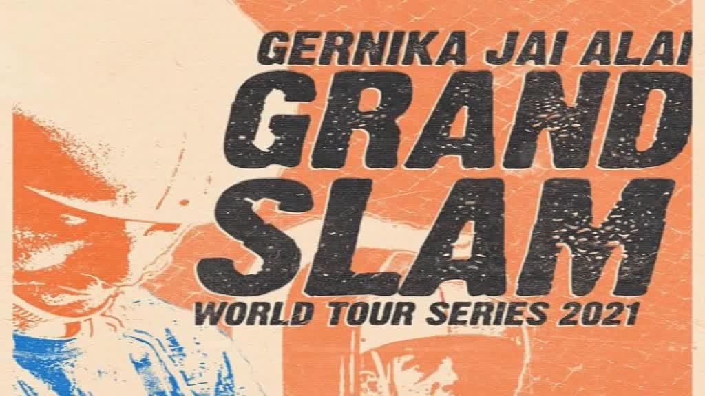Jai Alaiko Gran Slam-erako hiru sarrera bikoitz, arinen deitzen duenarentzako eta galdera erantzuten duenarentzako