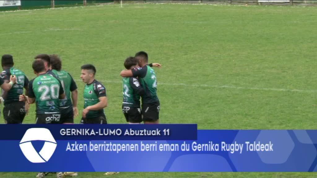 Azken berriztapenen berri eman du Gernika Rugby Taldeak