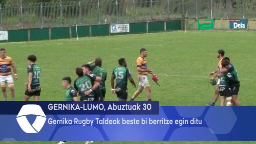 Gernika Rugby Taldeak beste bi berritze egin ditu