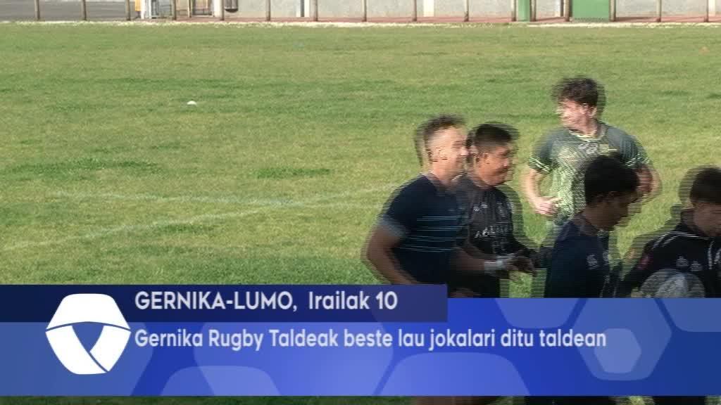 Gernika Rugby Taldeak beste hiru berriztapen egin ditu