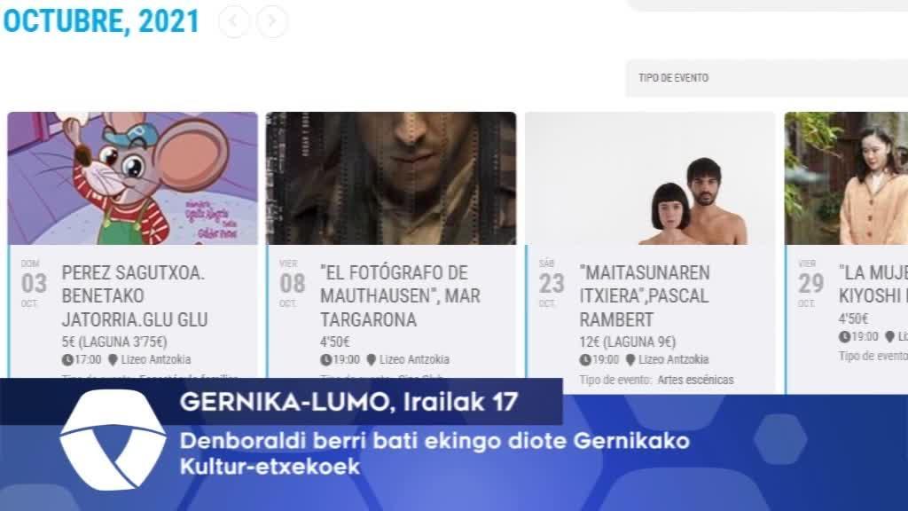 Denboraldi berri bati ekingo diote Gernika-lumoko Kultur Etxekoek