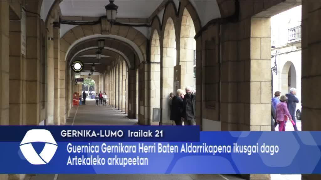 Guernica Gernikara erakusketa ikusgai da Artekalen