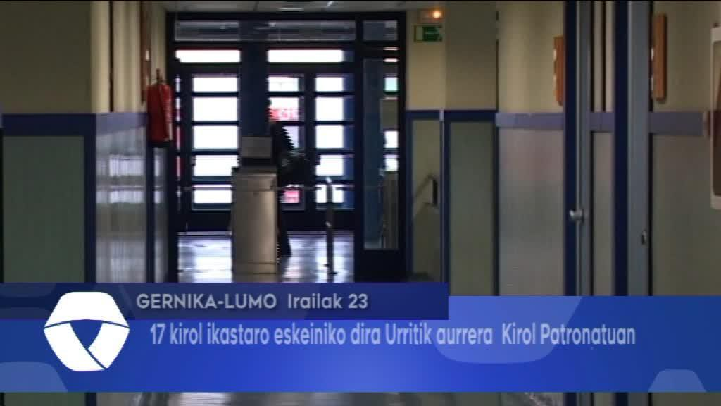 Gernika-Lumo Udal Kirol Patronatuak 17 kirol ikastaro eskeiniko ditu urritik aurrera