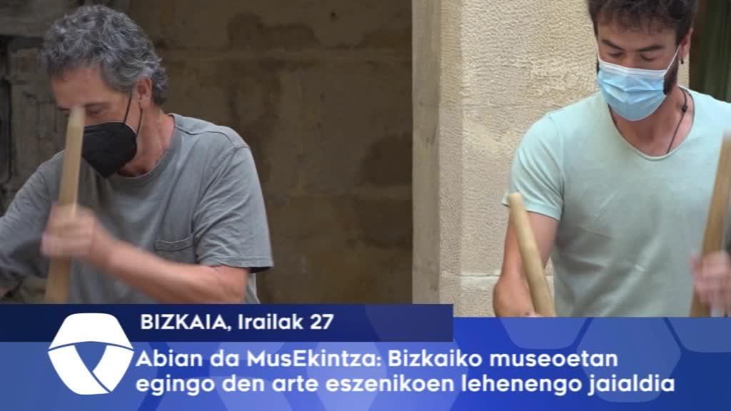 Abian da MusEkintza Bizkaiko museoetan egingo den arte eszenikoen lehenengo jaialdia