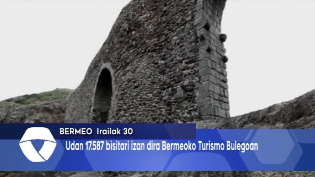 Bermeoko Turismo Bulegoan udan 17.587 bisitari izan dira