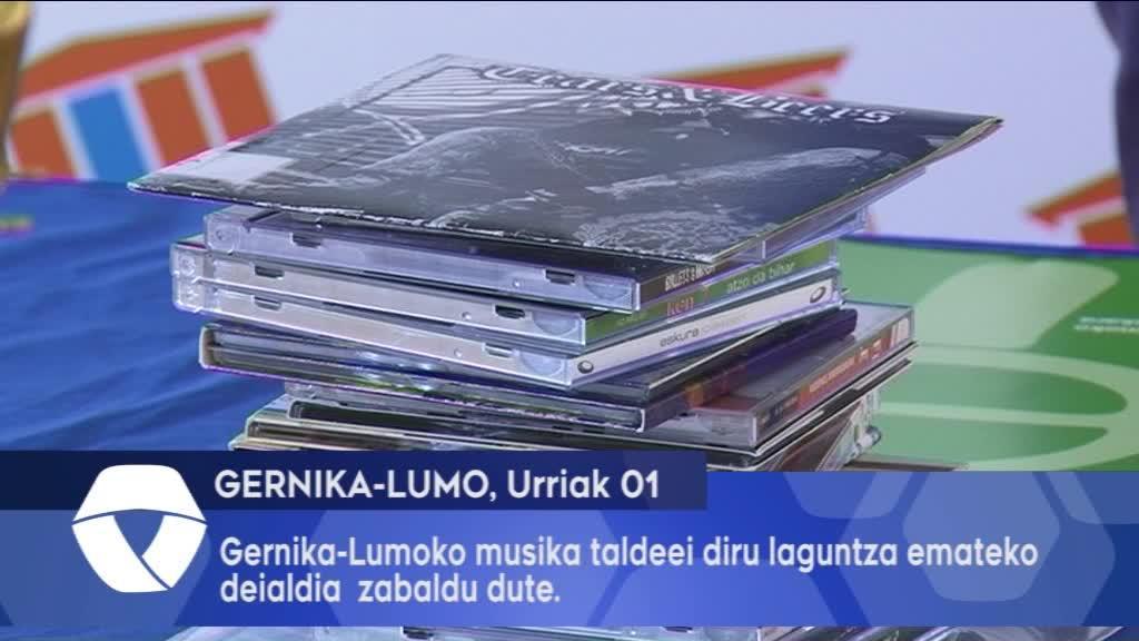 Gernika-Lumoko musika taldeei diru laguntza emateko deialdi zabaldu dute