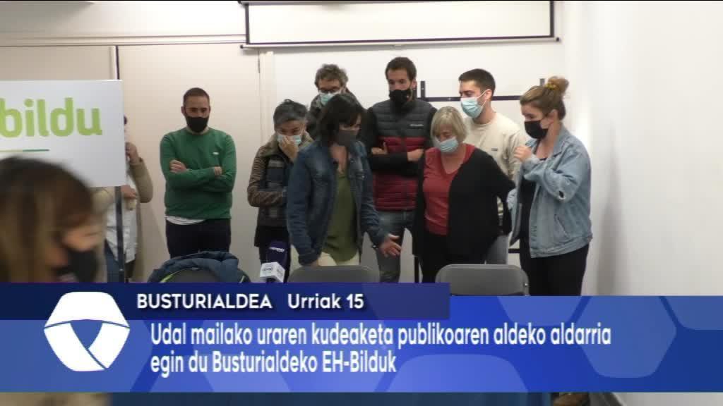Uraren benetako kudeaketa publikoa eskatu du EH-Bilduk