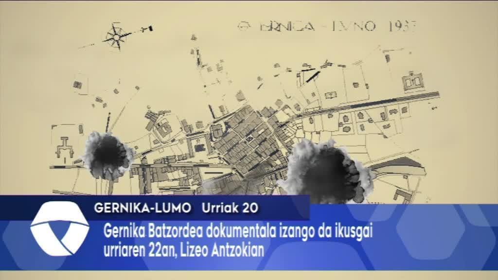 Gernika Batzordearen dokumentala izango da ikusgai urriaren 22an