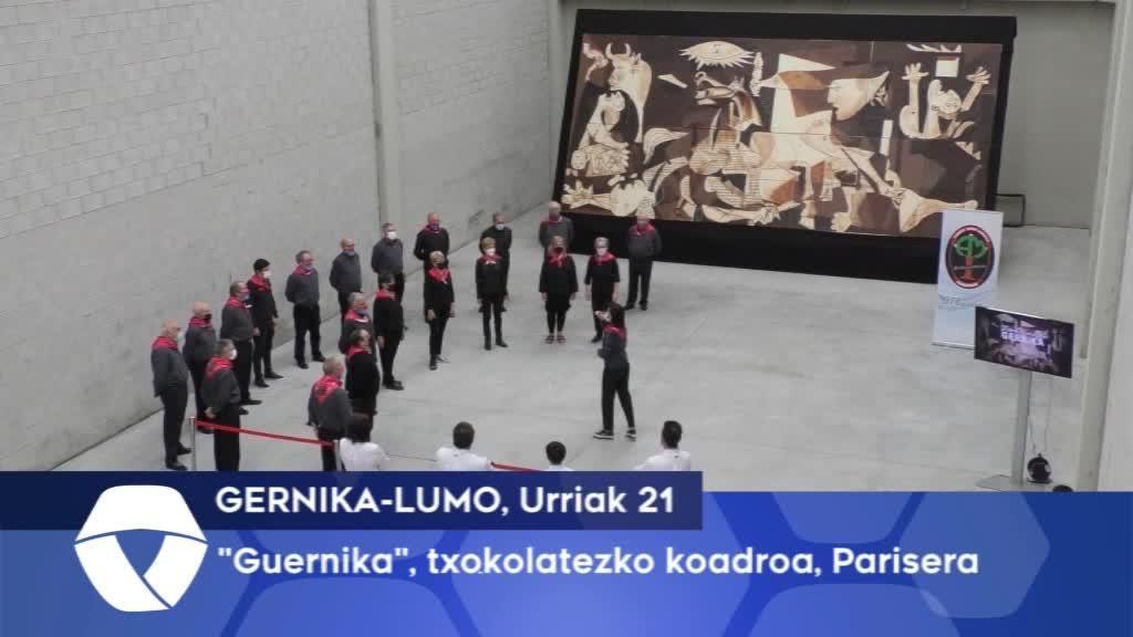 """Guernica"" koadroa, Parisera"