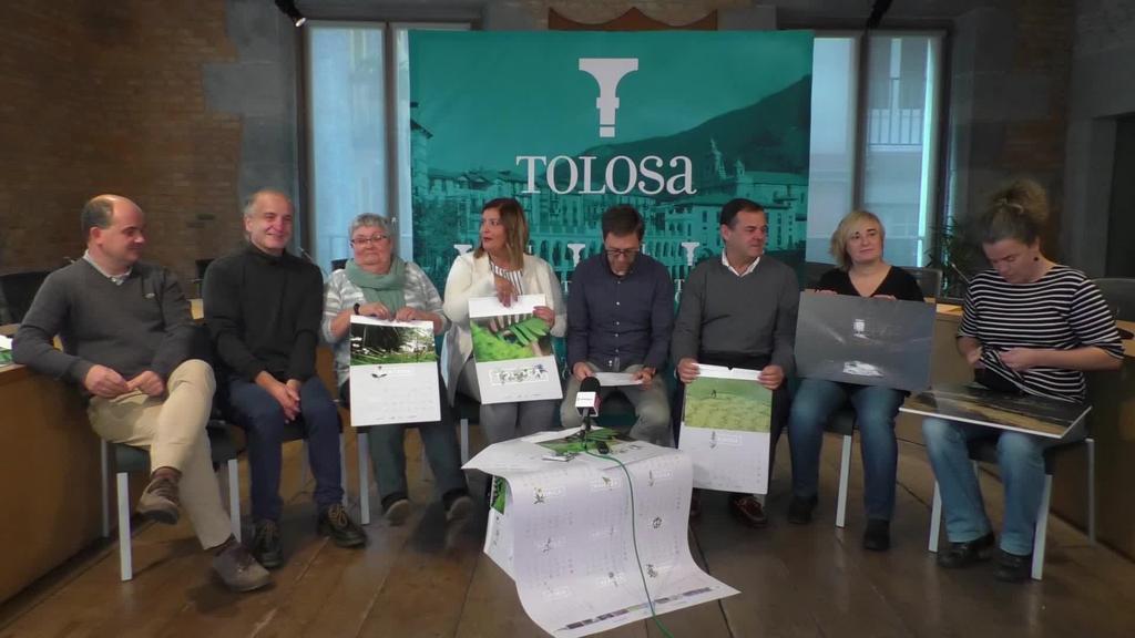 Kalean da 2019ko Tolosako egutegia