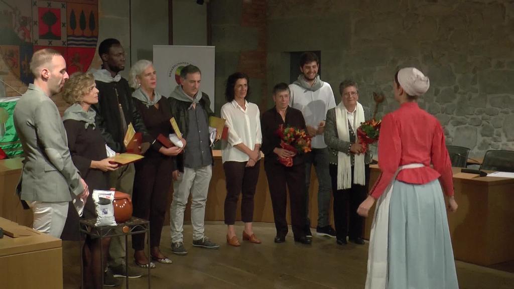 Tolosako Babarrunaren Kofradiak 4 ohorezko kide  berri izendatu ditu