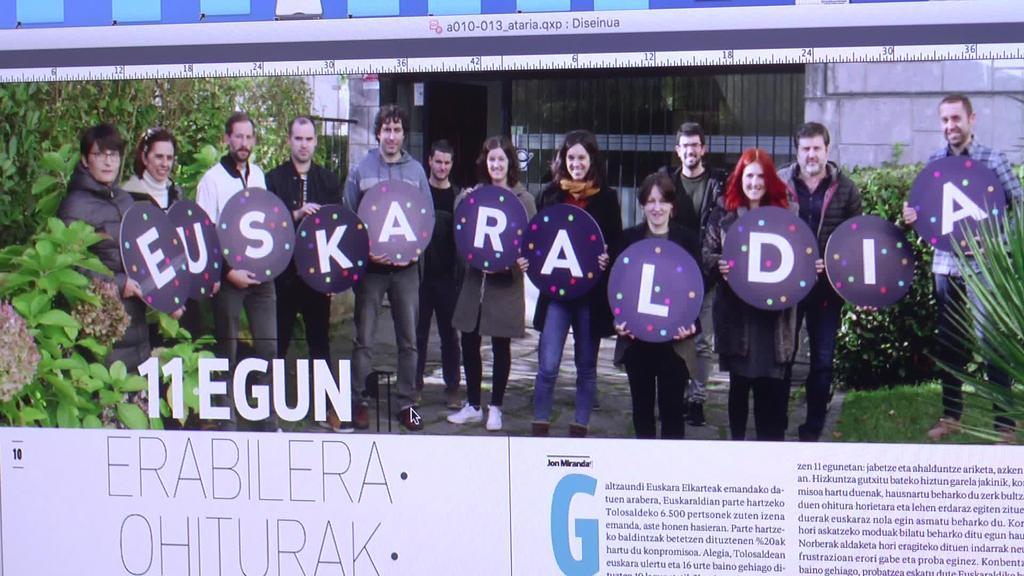 Indarkeria obstetrikoa eta Euskaraldia ardatz hartuta dator ostiraleko aldizkaria