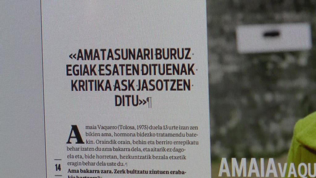 Amatasuna eta Euskal Herriko Dantza Txapelketako irabazleak aste honetako astekariko gai nagusiak